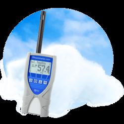 Termohigrometr cyfrowy do pomiaru wilgotności powietrza RH1