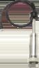 humimeter WLW Hammer (elektroda młotkowa) zkablem BNC 12630