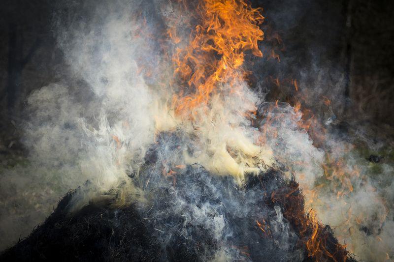 Czujnik wilgotności stogu siana - zapobieganie pożarom