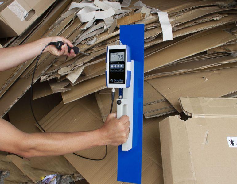 Wilgotnościomierz domakulatury wbelach humimeter RP6