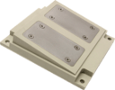 BLO wood chips sensor with compressing construction for assembly at places with low compacting pressure