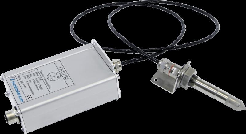 Przetwornik temperatury i wilgotności LF-TD 180 z sondą na kablu