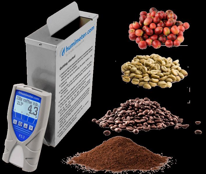 Urządzenie dokontroli jakości niełuskanych ziaren kawy