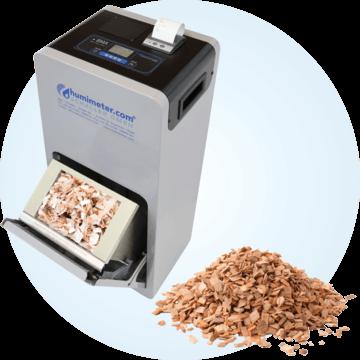 Wilgotnościomierz do biomasy, zrębków, trocin i wiórów humimeter BMA-2