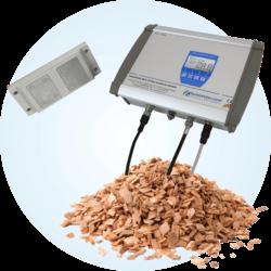 System ciągłego pomiaru wilgotności zrębków humimeter BLO