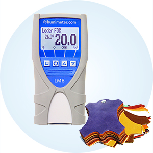 Wilgotnościomierz skóry humimeter LM6