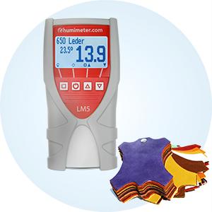 Wilgotnościomierz skóry humimeter LM5