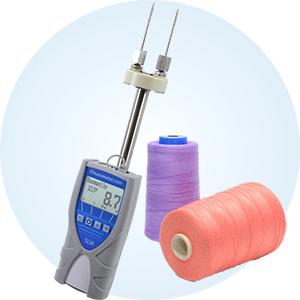 Wilgotnościomierz materiałów tekstylnych humimeter SLW