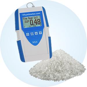 Miernik wilgotności soli i soli drogowej humimeter MS4
