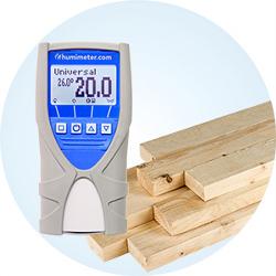 Uniwersalnym miernik wilgotności do pomiaru zawartości wody w materiałach
