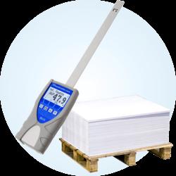 Miernik wilgotności papieru w stosach i ryzach humimeter RH5