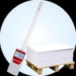 Higrometr do mierzenia wilgotności papieru humimeter RH5.1