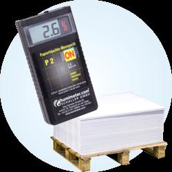 Miernik wilgotności papieru P2